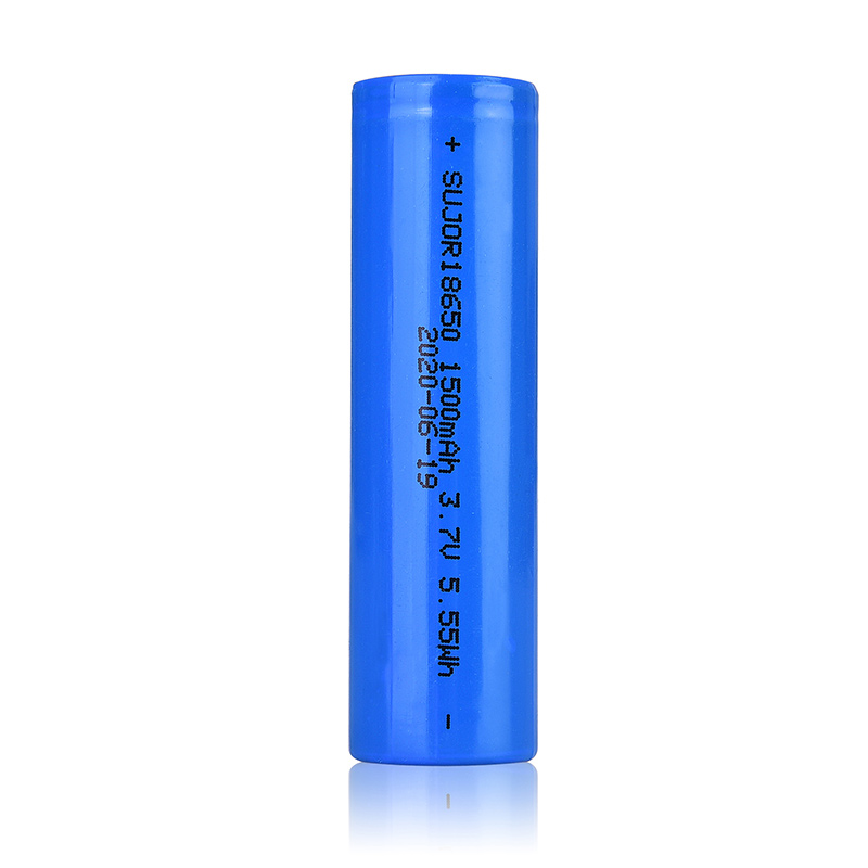 3.7V 18650 1500mAh Lithium ion battery