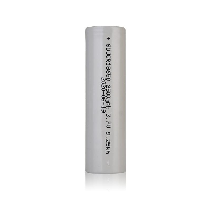 3.7V 18650 2500mAh Li-ion battery