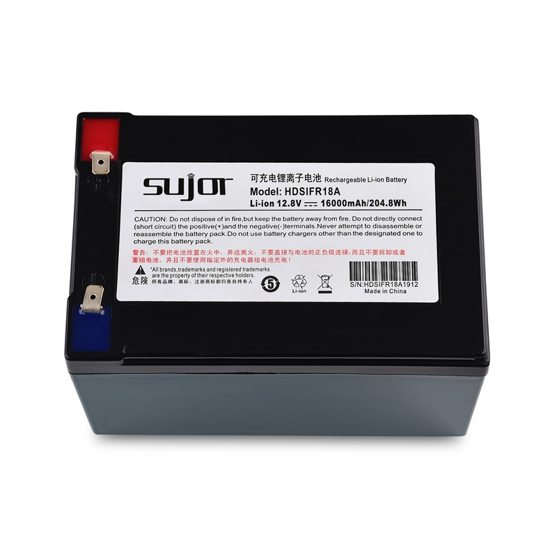 LiFePO4 battery pack 12V 18Ah lead acid replacement battery