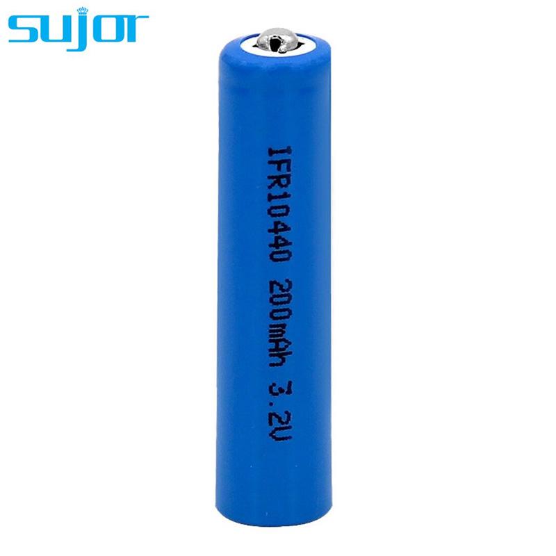 LiFePO4 battery 3.2V 10440 AAA 200mAh LFP battery