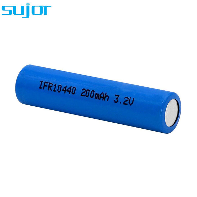LiFePO4 battery 3.2V 10440 AAA 200mAh LFP battery