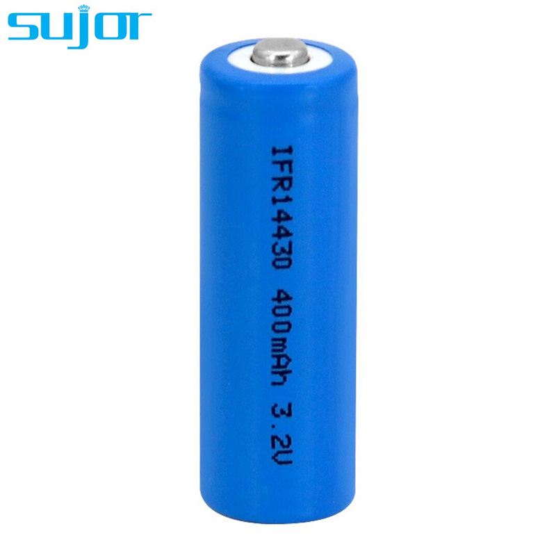 LiFePO4 battery 3.2V 14430 4/5AA 400mAh lithium iron phosphate battery