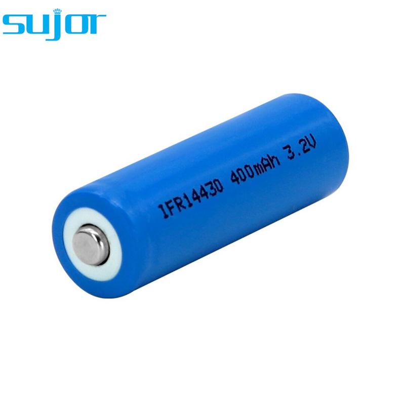 LiFePO4 battery 3.2V 14430 4/5AA 400mAh lithium iron phosphate battery