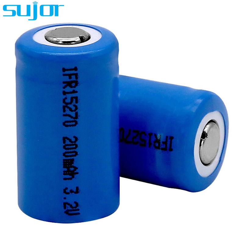 LiFePO4 battery 3.2V 15270 200mAh LFP battery