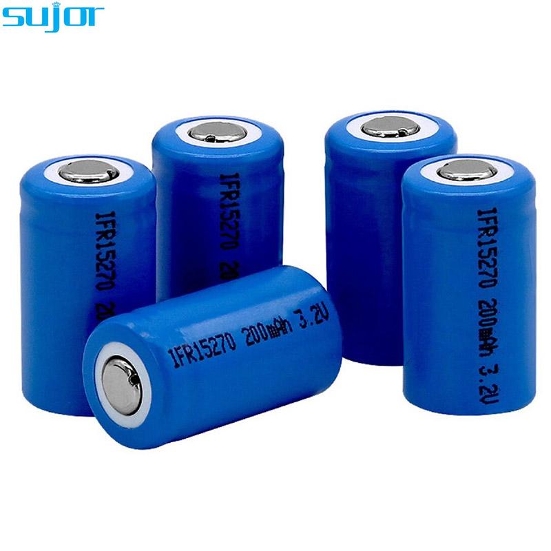 LiFePO4 battery 3.2V 15270 200mAh LFP battery