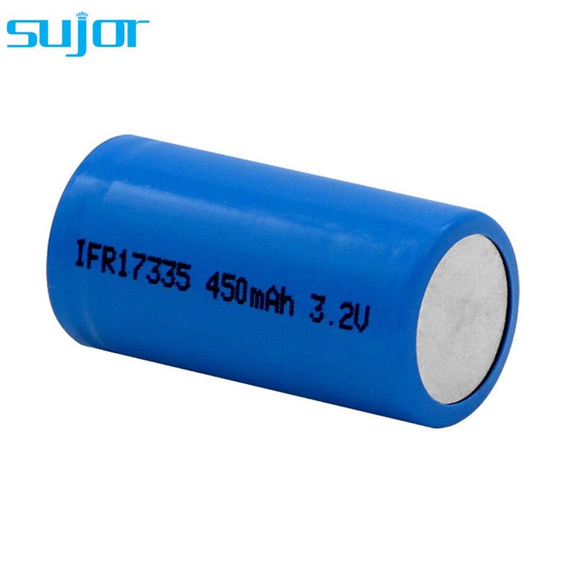LiFePO4 battery 3.2V 17335 450mAh LFP battery