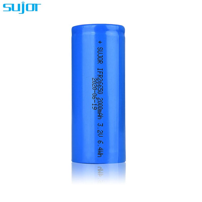 LiFePO4 battery 3.2V 26650 2000mAh LFP battery