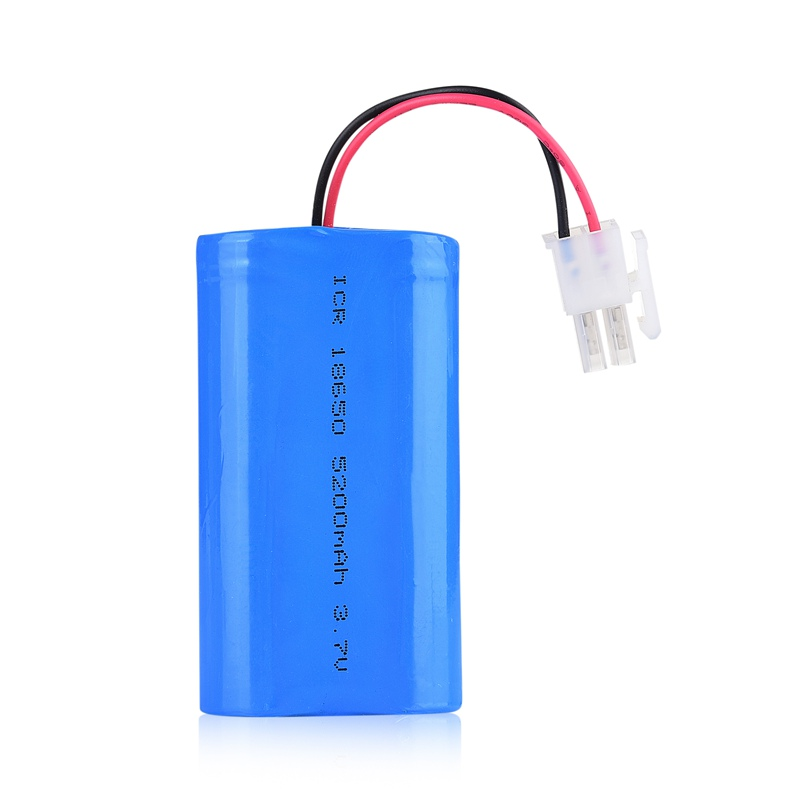 Lithium ion battery pack 3.7V 18650 5200mAh