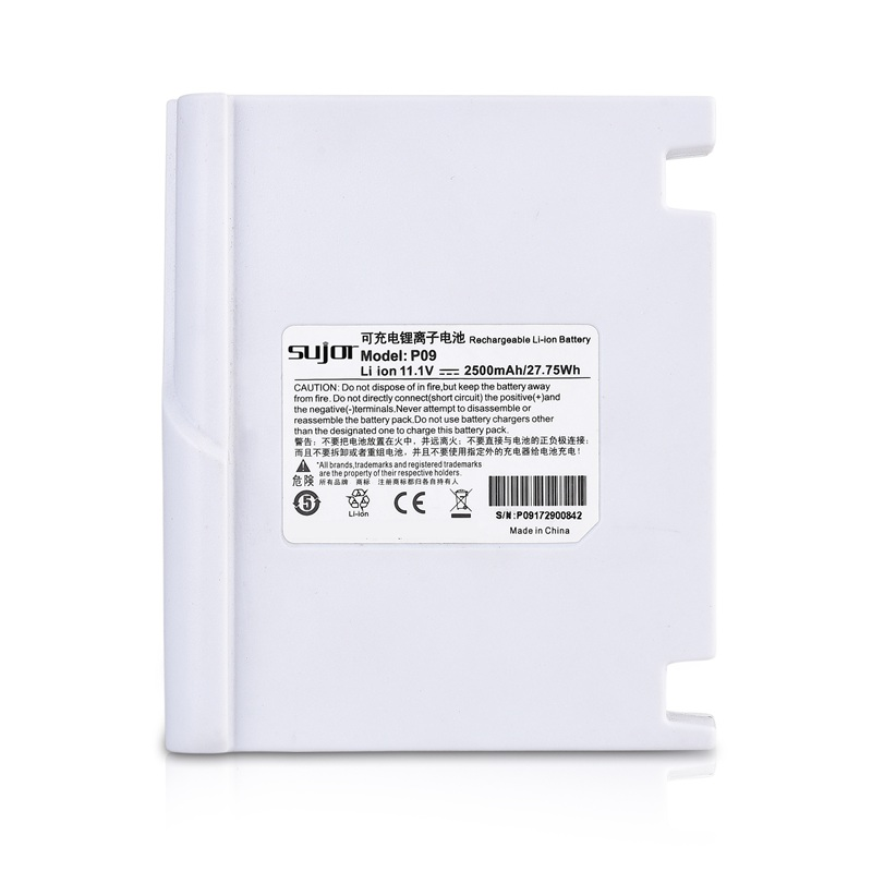 Lithium ion battery pack 11.1V 18650 2500mAh