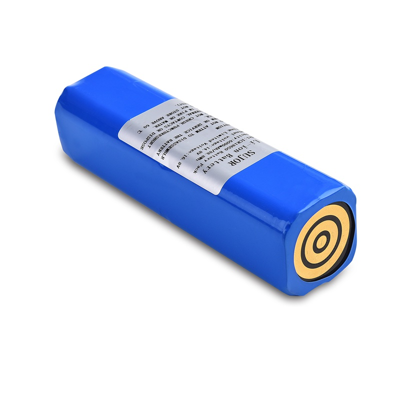 14.8V 18650 6000mAh 4S3P lithium-ion battery pack with high quality