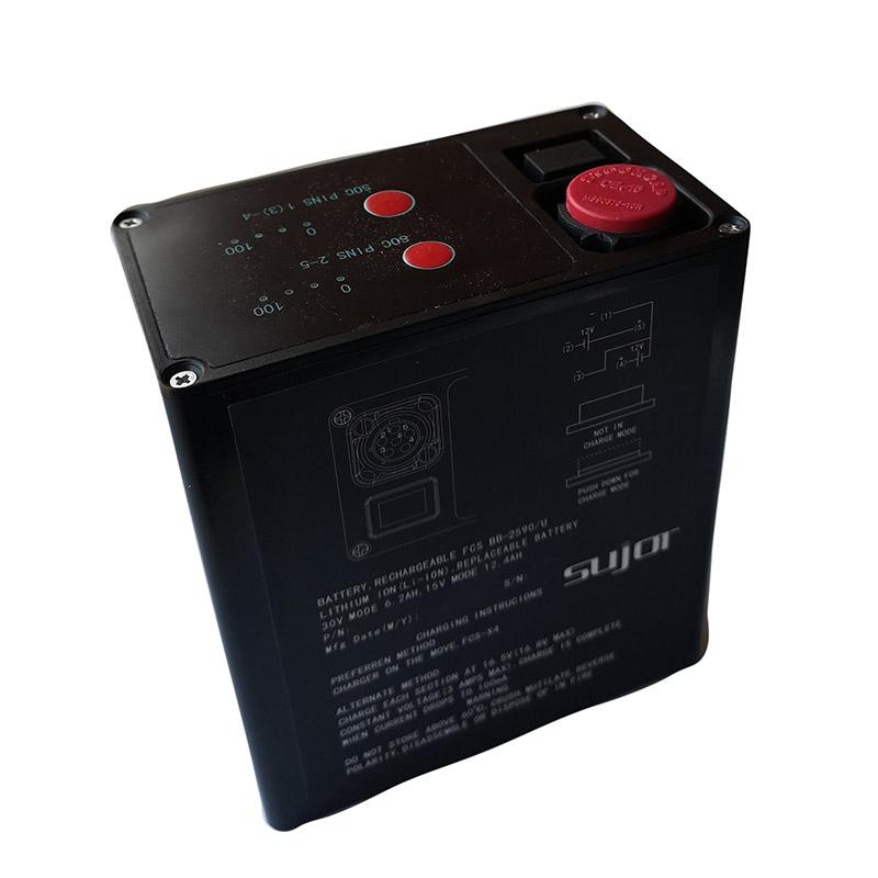 Military battery BB2590/U 14.4V 28.8V 15Ah 7.5Ah lithium ion battery pack