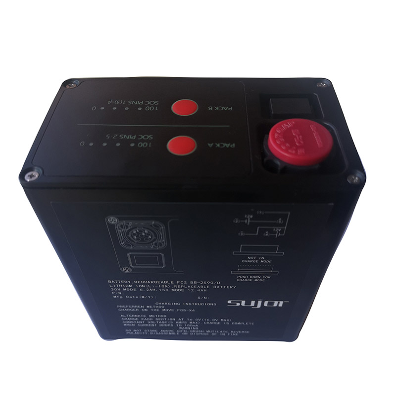 Military battery BB2590/U 14.4V 28.8V 15Ah 7.5Ah lithium ion battery pack