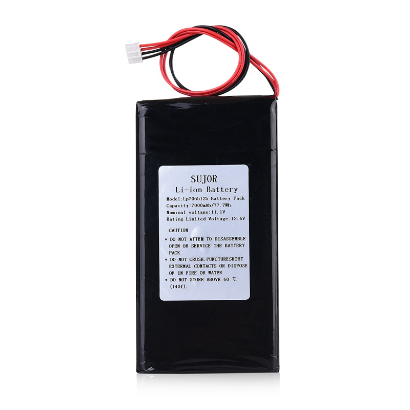 Low temperature Lithium polymer battery 11.1V 7065125 7000mAh