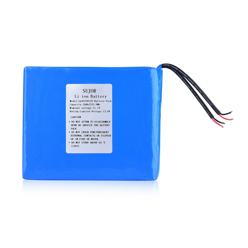 Low temperature Lithium polymer battery 11.1V 40100120 20Ah