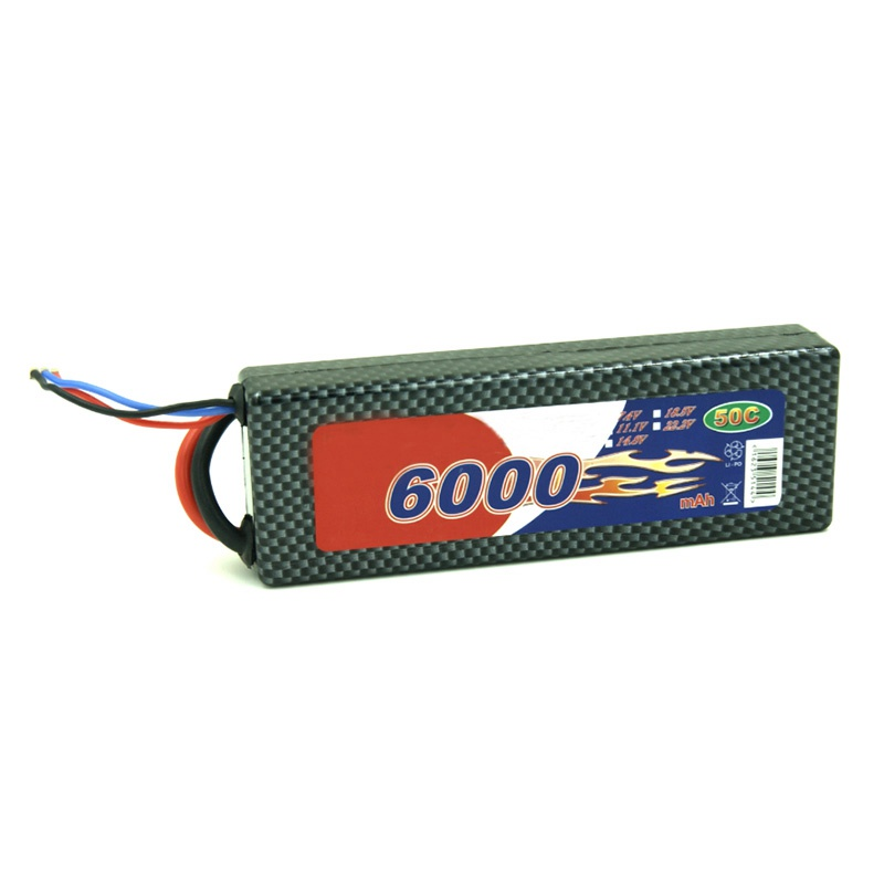 High drain Lithium polymer battery hard case pack RC car battery