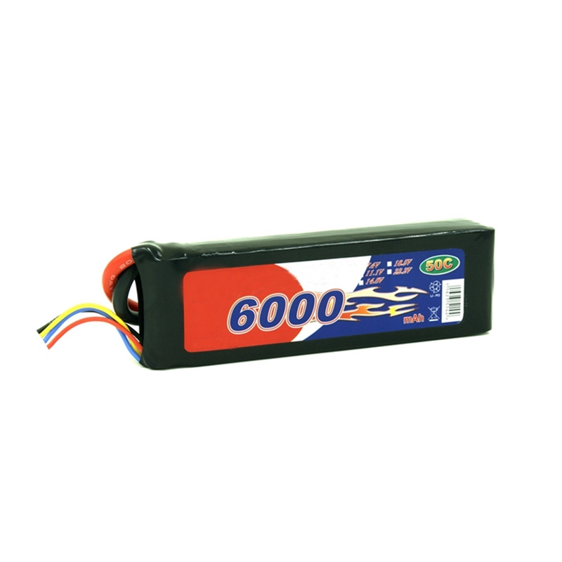 High drain Lithium polymer battery PVC pack RC boat battery