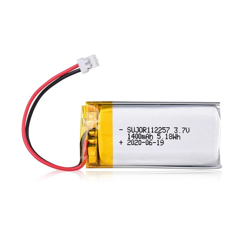 Lithium polymer battery 3.7V 112257 1400mAh