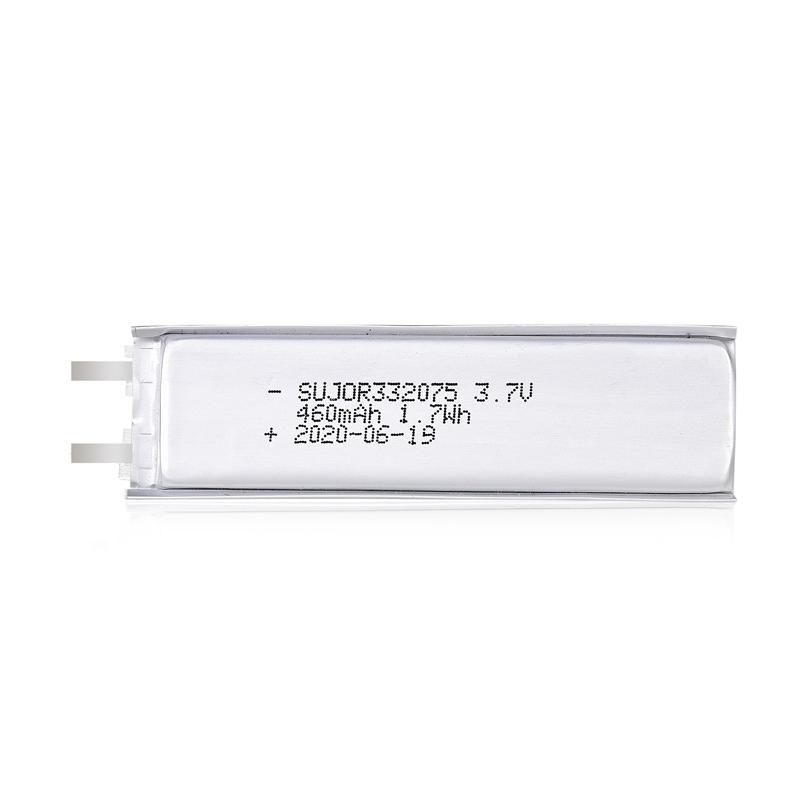 Lithium polymer battery 3.7V 332075 460mAh
