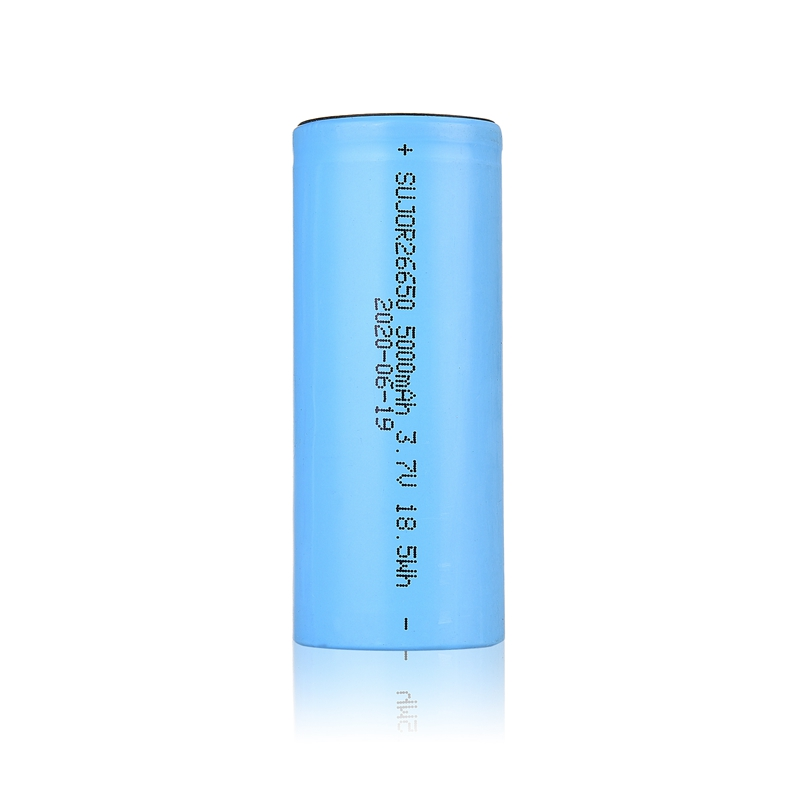 Lithium-ion battery 3.7V 26650 5000mAh
