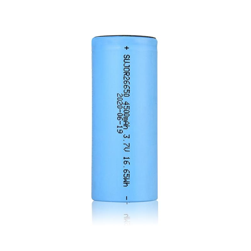 Lithium-ion battery 3.7V 26650 4500mAh