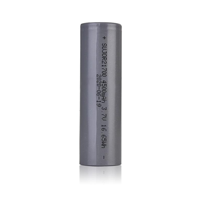 Lithium ion battery 3.7V 21700 4500mAh
