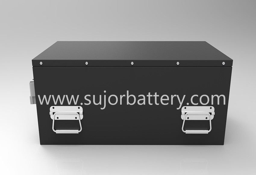 48V 180Ah Li-FePO4 battery pack for industrial robot