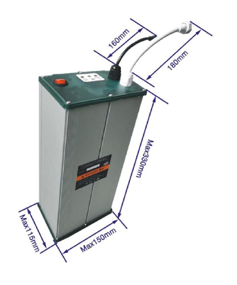 12V 30Ah Lithium ion battery pack for solar street light
