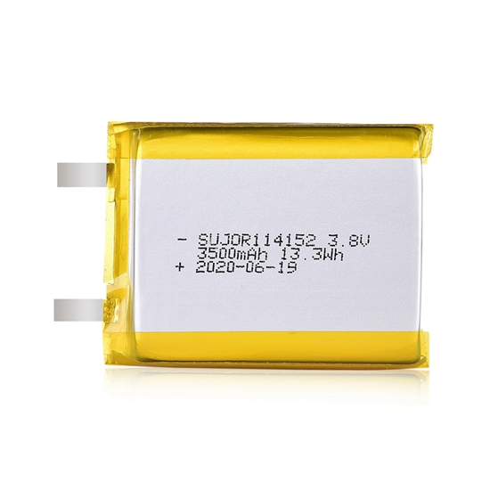 Lithium polymer battery 114152 3500mAh 3.8V