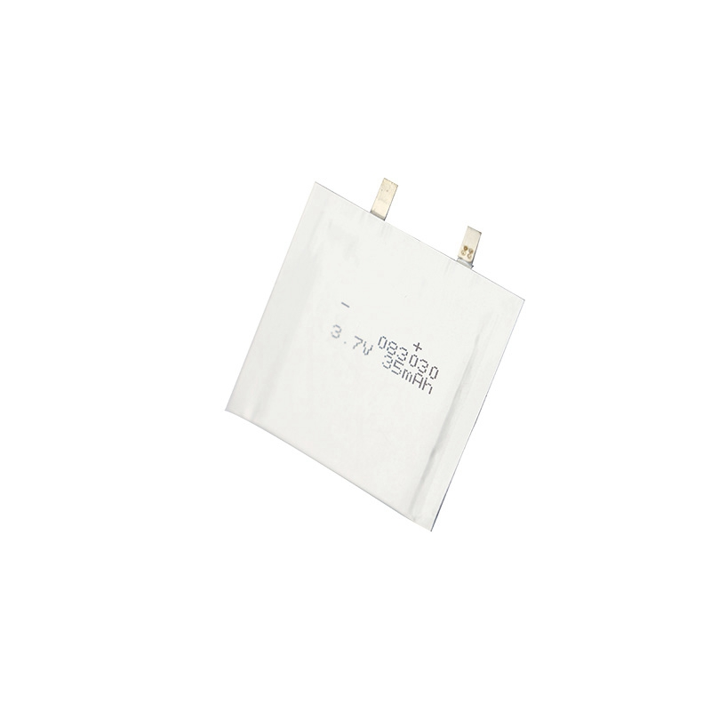 Ultra-thin Lithium polymer battery 3.7V 083030 35mAh