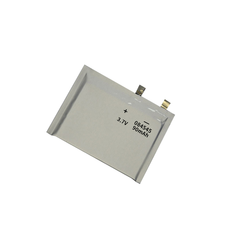 Ultra-thin Lithium polymer battery 3.7V 084545 90mAh