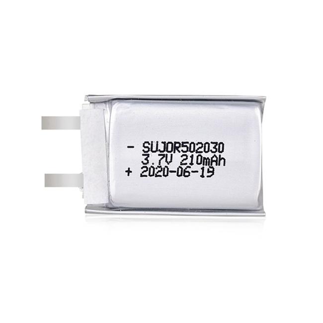 Li polymer battery 3.7V 502030 210mAh