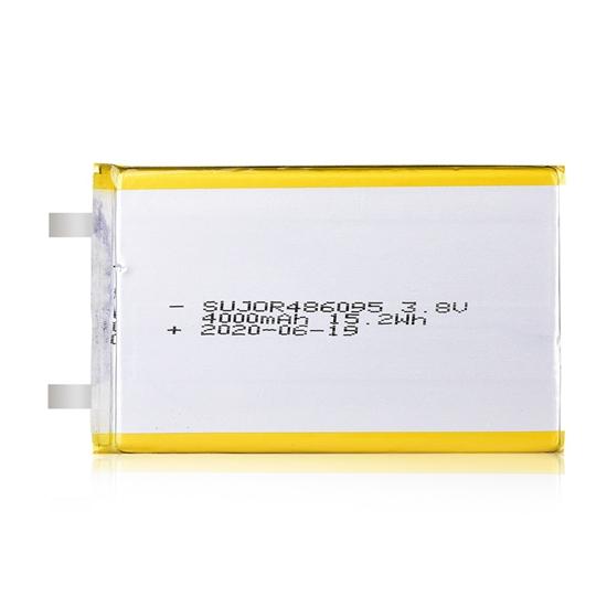 Li-polymer battery 3.8V 486095 4000mAh