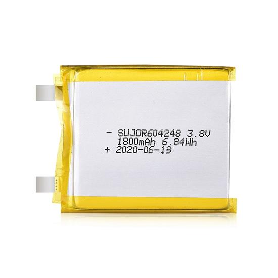 Lithium-polymer battery 3.8V 604248 1800mAh