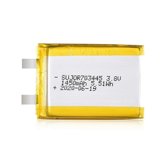 Lipo battery 3.8V 703445 1450mAh