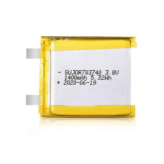 Lithium-polymer battery 3.8V 703740 1400mAh