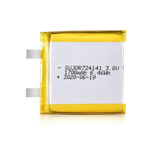 Lithium polymer battery 3.8V 724141 1700mAh