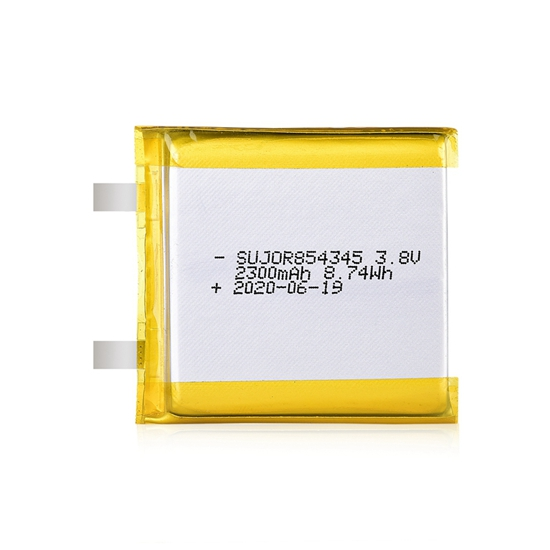 Lipo battery 3.8V 854345 2300mAh