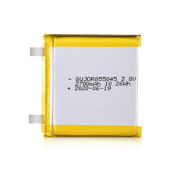 Lithium polymer battery 3.8V 855045 2700mAh