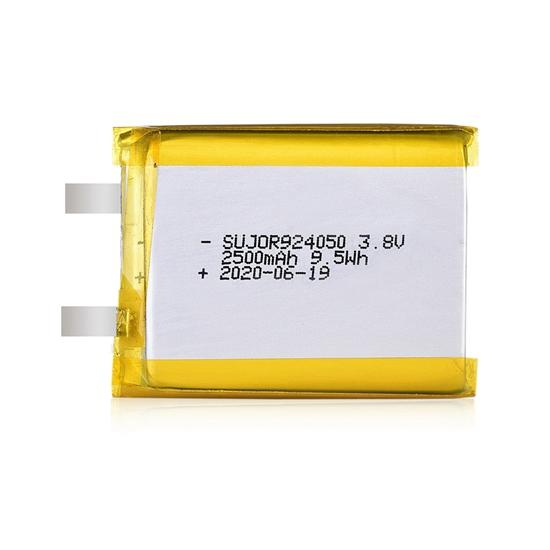 Li-polymer battery 3.8V 924050 2500mAh