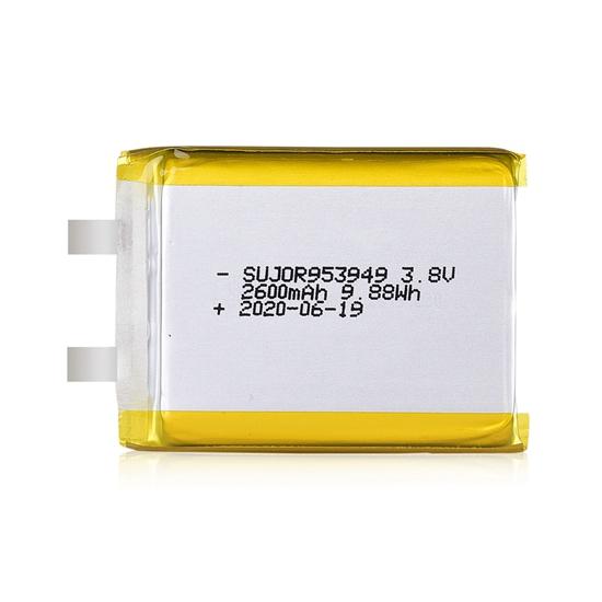 Lithium polymer battery 3.8V 953949 2600mAh