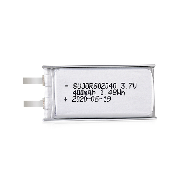 Lithium-polymer battery 3.7V 602040 400mAh