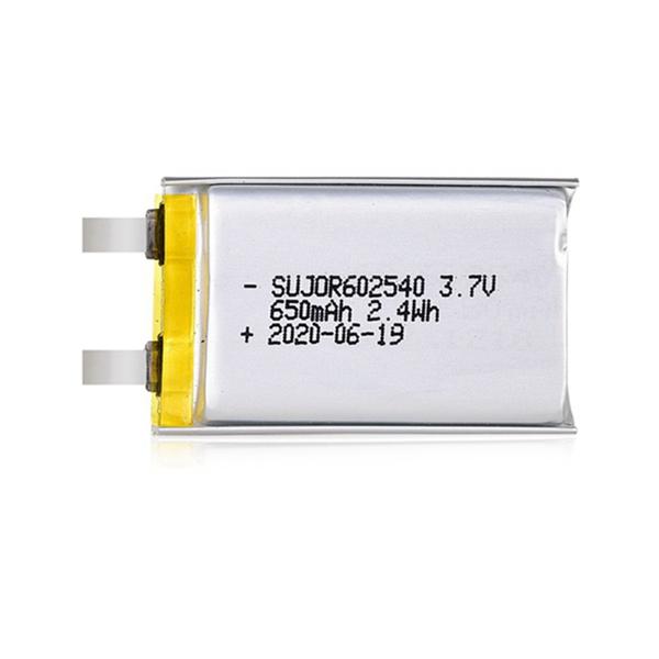 Lithium polymer battery 3.7V 602540 650mAh