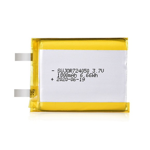 Li-polymer battery 3.7V 724050 1800mAh