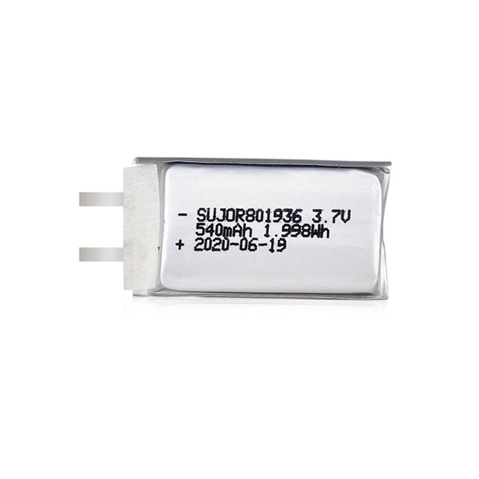Lipo battery 3.7V 801936 540mAh