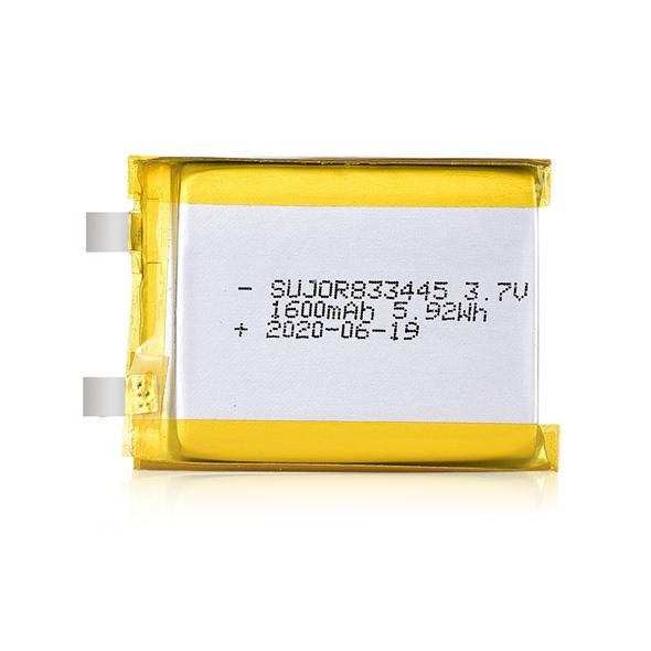 Li-polymer battery 3.7V 833445 1600mAh