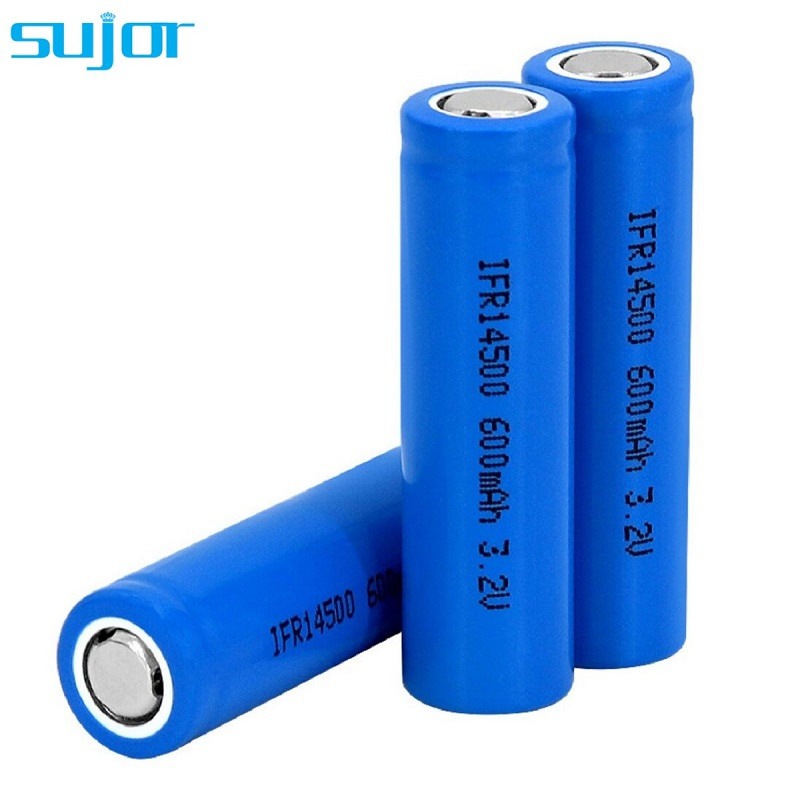 LiFePO4 battery 3.2V 14500 AA 600mAh lithium iron phosphate battery