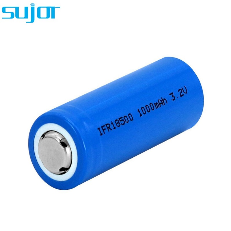 LiFePO4 battery 3.2V 18500 1000mAh lithium iron phosphate battery