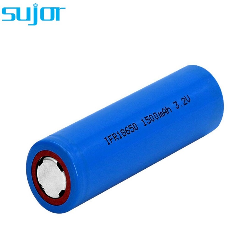 LiFePO4 battery 3.2V 18650 1500mAh lithium iron phosphate battery