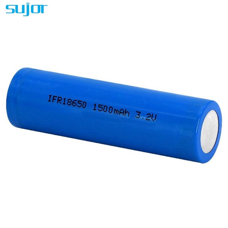 LiFePO4 battery 3.2V 18650 1500mAh lithium iron phosphate battery