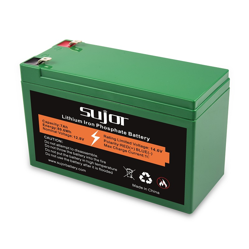 VRLA replacement LiFePO4 battery pack 12V 7Ah